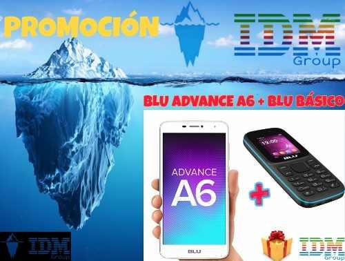 Blu Advance A6 + Básico _75 Us_ Telef Celular Dual Sim