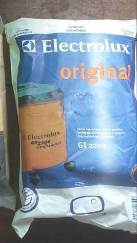 Bolsas Originales Aspiradora Electrolux Gt 2200 X 3