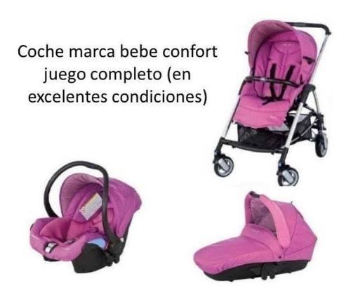 Coche De Bebe Marca Confort Juego Completo