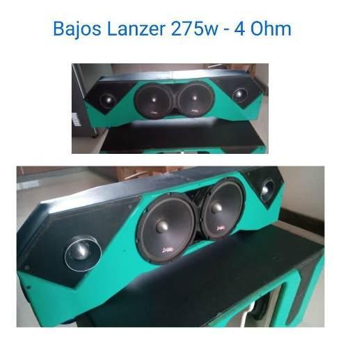 Equipo De Sonido Completo Para Auto Pyramid Powerbass Lanzer