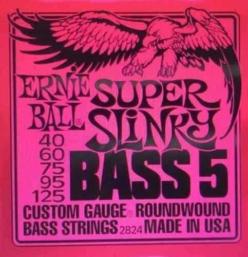 Ernie Ball 5 Cuerdas Y Alice 4 Cuerdas Para Bajo