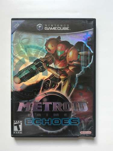 Juego De Coleccion Metroid Prime 2 Echoes Nintendo Gamecube