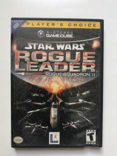 Juego Original Nintendo Gamecube Star Wars Rogue Leader 2