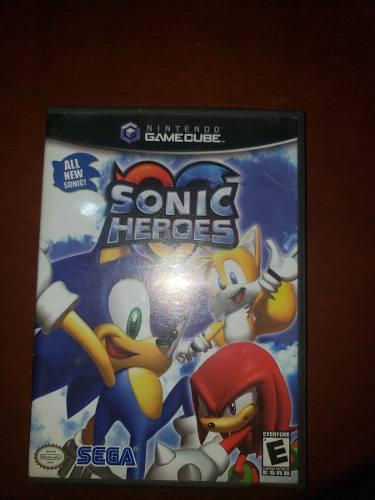 Juego Sonic Heroes De Nintendo Gamecube