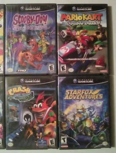 Juegos De Gamecube Originales 2x10vedes Hay Con Manual