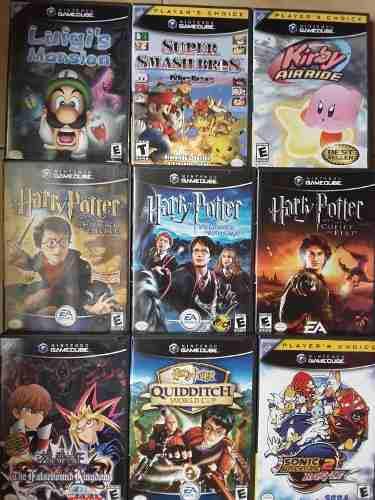 Nintendo Gamecube Juegos Originales