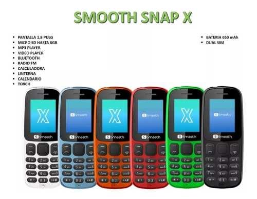 Telefono Celular Basico Smooth Snap X Dual Sim Tienda Chacao