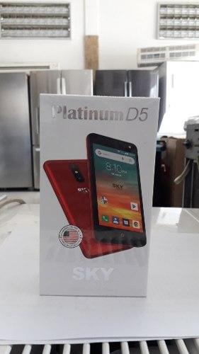 Telefono Celular Sky D5 Platinum