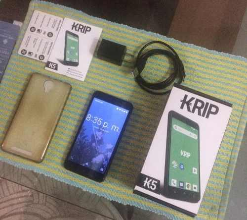 Teléfono Celular Android Krip K5
