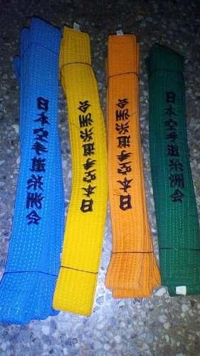 Cintas De Karate Bordadas