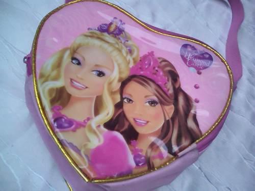 Lonchera De Barbie Para Niña Modelo Castillo De Diamante