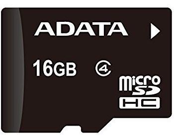 Memoria Micro Sd 16gb, Microsd 16 Gb, Adata, Somos Tienda