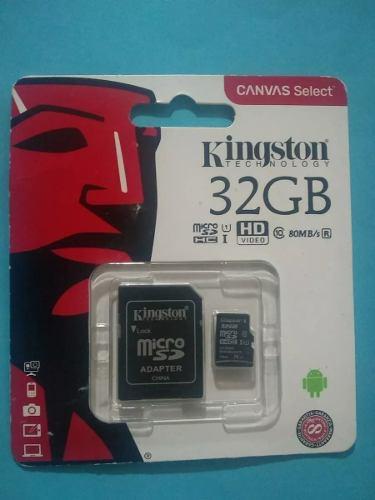 Memoria Micro Sd 32gb + Adaptador Nueva Original