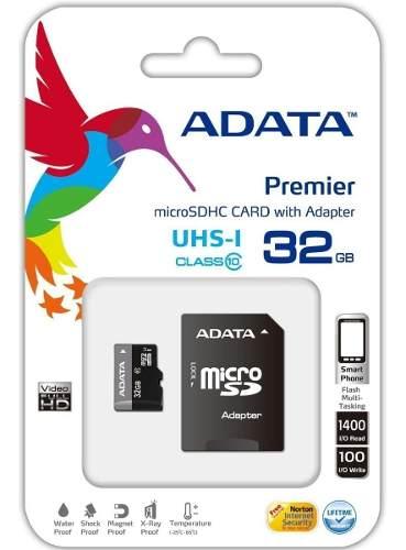 Memoria Micro Sd 32gb Adata