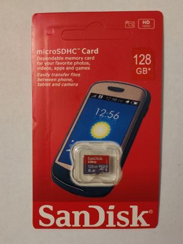 Memoria Micro Sd De 128 Gb