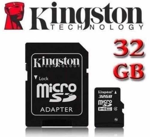 Memoria Micro Sd Kingston 32gb $10