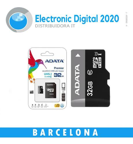 Memoria Micro Sd Marca Adata 16 Gb Blister