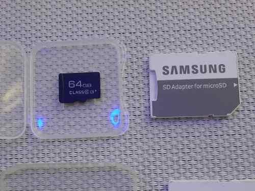 Memoria Micro Sd Samsung Original 64gb Nueva