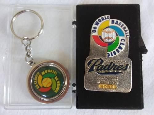 Pin 1er. Clasico Mundial De Beisbol Y Llavero v