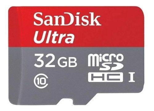 Tarjeta De Memoria Micro Sd Sandisk Ultra 32gb Nuevas