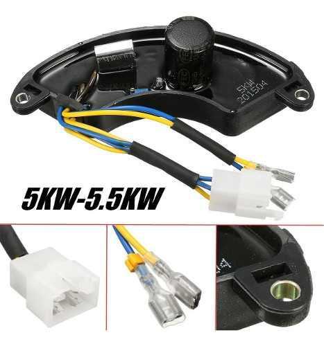 Avr Curvo Regulador De Voltaje Para Planta Electrica 5kw-5.5