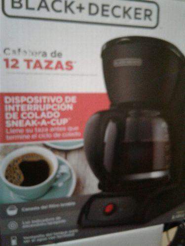 Cafetera Black & Decker Filtro Permanente Lavable Cm1200b