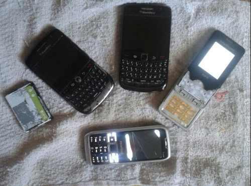 Celulares Blackberry Y Otros Para Reparar O Repuesto.