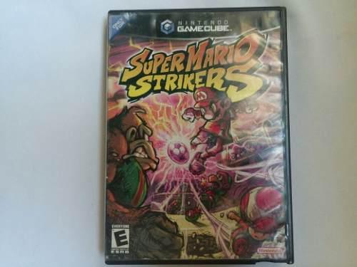 Juego Nintendo Gamecube Wii Usado Super Mario Strikers