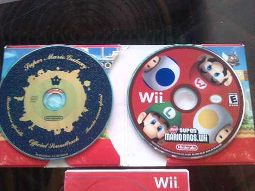 Juego Original Para Wii Super Mario Bros Wii