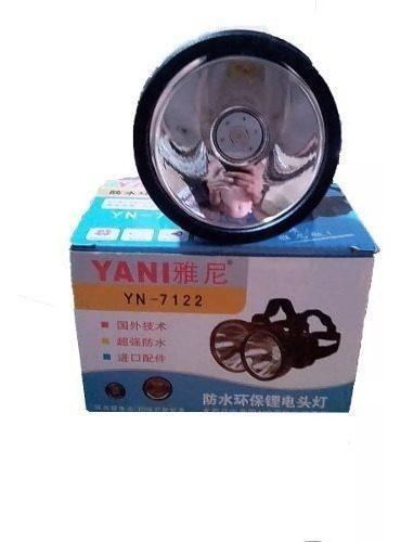 Linterna, Lampara Led Recargable Yani 7122 Casco Oferta 16$