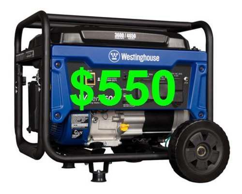 Planta Electrica Generador 4650w