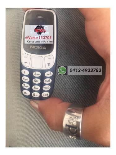 Teléfono Mini Nokia Bluetooth Y Sim Card El Más