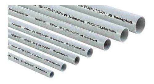 Tubo De Electricidad Pvc 1/2 1.1/2 Pulg, 1-2-3 Pulgada