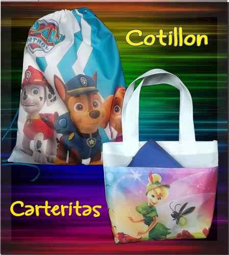 Cotillon Tula Carterita (--precio Por 3 Unidades.) 25x20