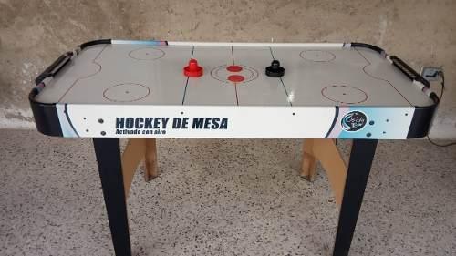 Hockey De Mesa Activado Con Aire Marca Jeidy Toys