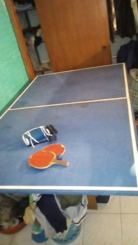 Mesa De Ping Pong Casera (no Son Las Medidas Oficiales)