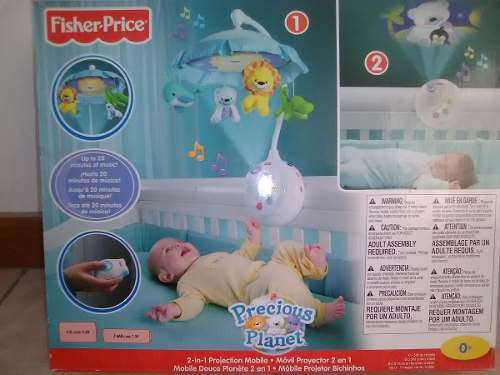 Movil Proyector Fisher Price 2 En 1