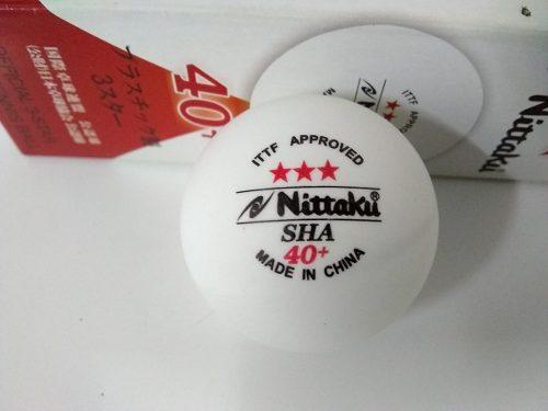 Pelota Tenis De Mesa Nittaku 3 Estrellas.(3 Piezas X 9vrds)