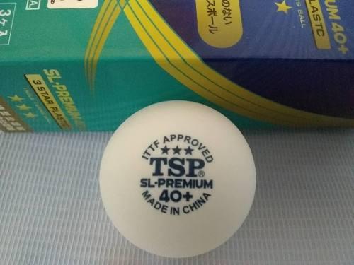 Pelotas Tenis De Mesa Tsp 3 Estrellas (caja 3 Pzas X 9vrds)