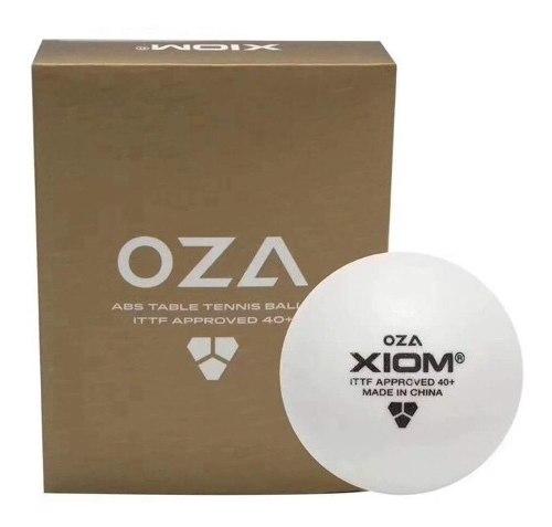 Pelotas Tenis De Mesa Xiom Oza (empaque 12 Pzas X 20vrds)