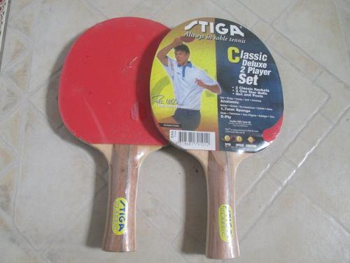 Raqueta De Ping Pong Marca Stiga Clasica De Luxe Oferta