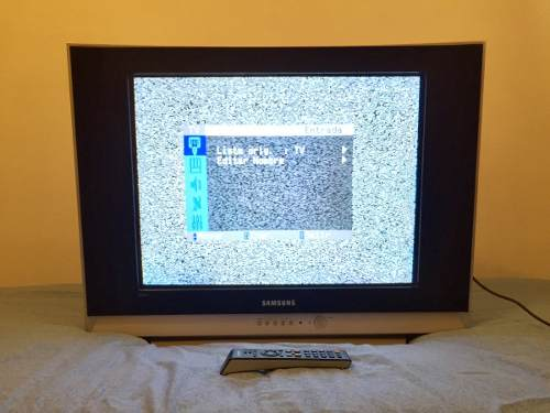 Remato! Televisor Sansung 29 Pantalla Plana Con Control