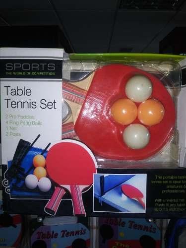 Set De Raquetas De Ping Pong Sports