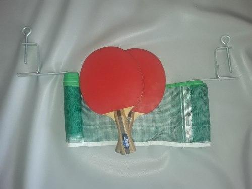 Set De Raquetas De Ping Pong Y Malla