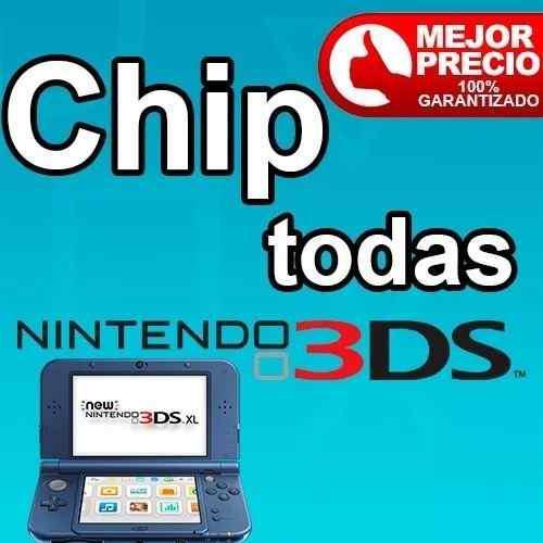 Chip 3ds Virtual Todas Versiones Somos Tienda
