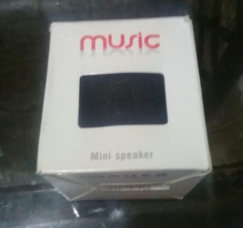 Cornetas Portátil Mini Speaker (5 Vds)