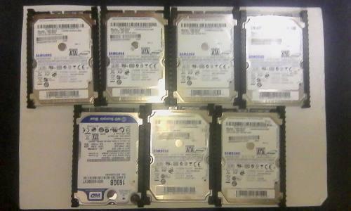 Disco Duro Para Laptop De 160 Gb Usado