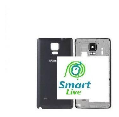 Carcasa Samsung Note 4 Chasis Bisel Con Camara