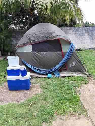 Carpa Camp Dielle Para 10 Personas Y Juego De Cavas Artic