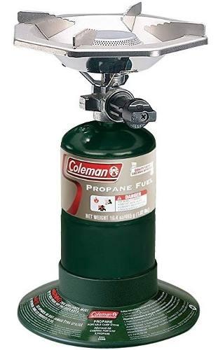Cocina Coleman 1 Quemador Con Bombona Incluida Camping
